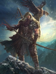 1056x1394_11052_Winter_is_coming_2d_illustration_winter_hunter_archer_warrior_fantasy_picture_image_digital_art